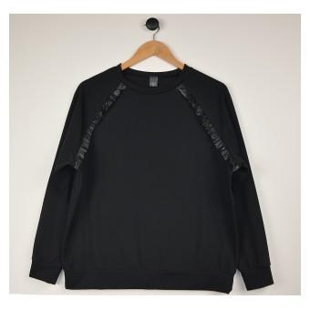 cienka bluza ze skórką - A-9763