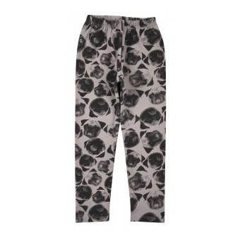 ciepłe legginsy dziewczęce - AB-9054