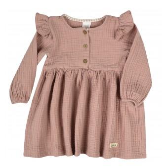 delikatna sukieneczka z muślinu - A-9826