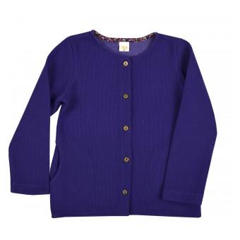 sweterek dziewczęcy na guziczki - A-9580