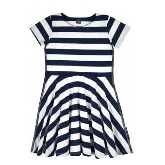 rozkloszowana sukienka dziewczęca - A-9876