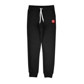 cienkie dresowe spodnie chłopięce SLIM - GT-8567