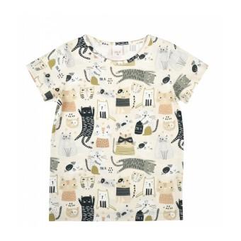 bluzka dziewczęca krótki rękaw - A-9899