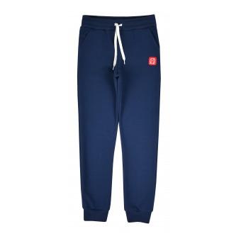 cienkie dresowe spodnie chłopięce SLIM