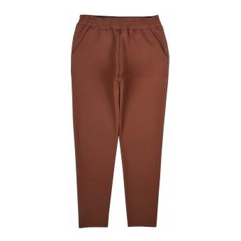 wygodne spodnie z ozdobnym przeszyciem - A-9732