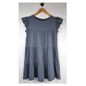 sukienka z muślinu - A-9998