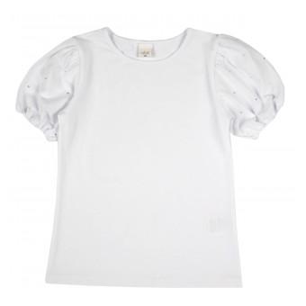 bluzka dziewczęca krótki rękaw - A-027