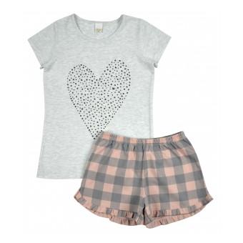 piżama dziewczęca - A-9306