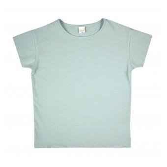 bluzka z nadrukiem na plecach - A-001