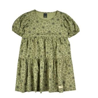 bawełniana sukienka dziewczęca - AZ-8012