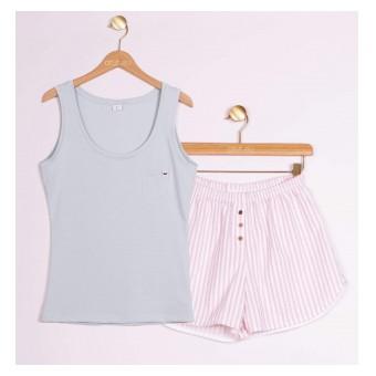 piżama na upalne dni - A-025