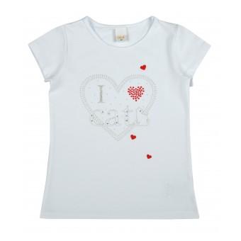 bluzka dziewczęca krótki rękaw - A-9448