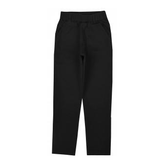 eleganckie spodnie chłopięce z tkaniny z dodatkiem elastanu - GT-8733