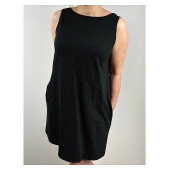 bawełniana sukienka oversize - A-053