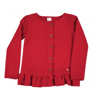 sweterek dziewczęcy na guziczki - A-9104