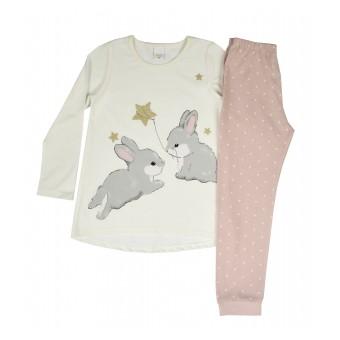 piżama dziewczęca - A-097