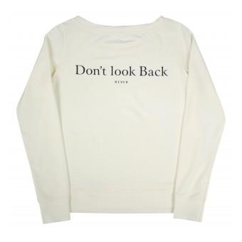 bluza damska z nadrukiem na plecach - A-9926
