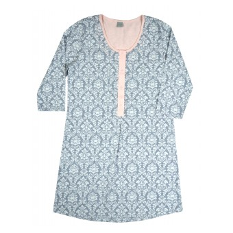 rozpinana koszula nocna - AD-062